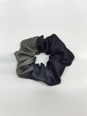 Scrunchie i changerende silke