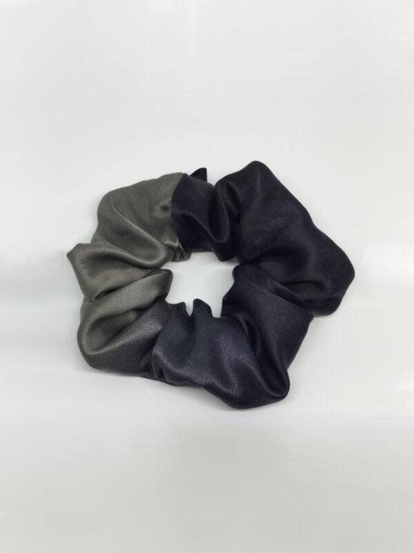 Scrunchie i changerende silke